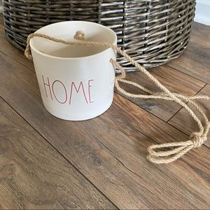 "🎄{hp} Rae Dunn ""Home"" Hanging Planter🎄"